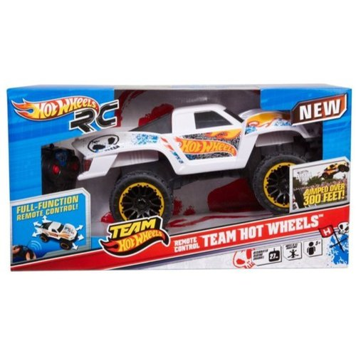 Hot Wheels 6-Volt Remote-Controlled Team Hot Wheels Jump Truck