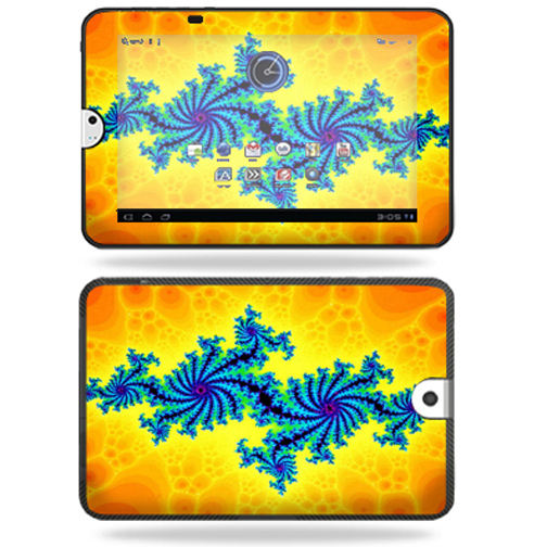 Mightyskins Protective Vinyl Skin Decal Cover for Toshiba Thrive 10.1 Android Tablet wrap sticker skins Fractal Works