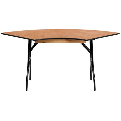 Bon Flash Furniture 48u0027u0027 Semi Circle Folding Table