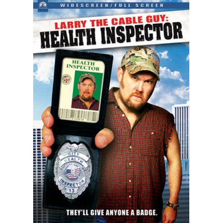 Larry the Cable Guy: Health Inspector (DVD) Larry Cable Guy Shows