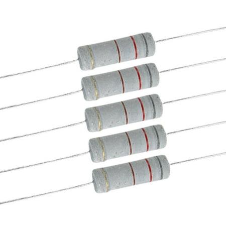 A11101900ux0372 5 W 700 V 820 Ohm Metal Oxide Film résistances – Couleurs Assorties (Lot de 10) - image 1 de 1