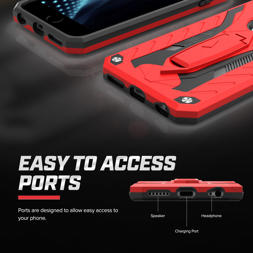watch 824aa 84348 iPhone 6s Case, Zizo [Static Series] Shockproof [Military Grade Drop  Tested] with Built-in Kickstand [iPhone 6s Heavy Duty Case] Impact Resistant