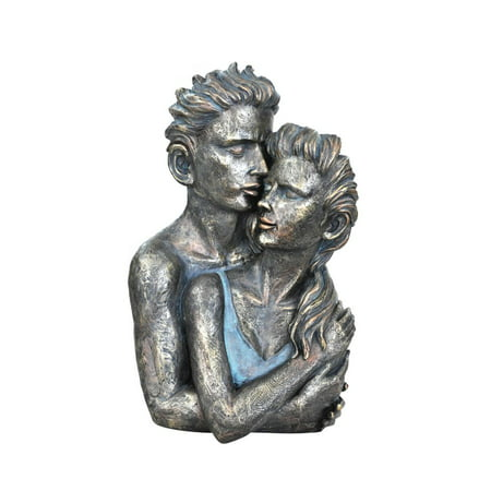 Beautiful Couple Statue Sculpture in Patina Finish by Urban Port