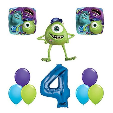 The Ultimate Monsters University Monsters Inc 4th Birthday Party Supplies](Monsters Inc Birthday)