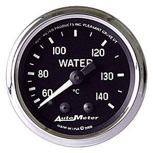 Auto Meter 201007 Cobra Mechanical Water Temperature (Mechanical Lube Meter)