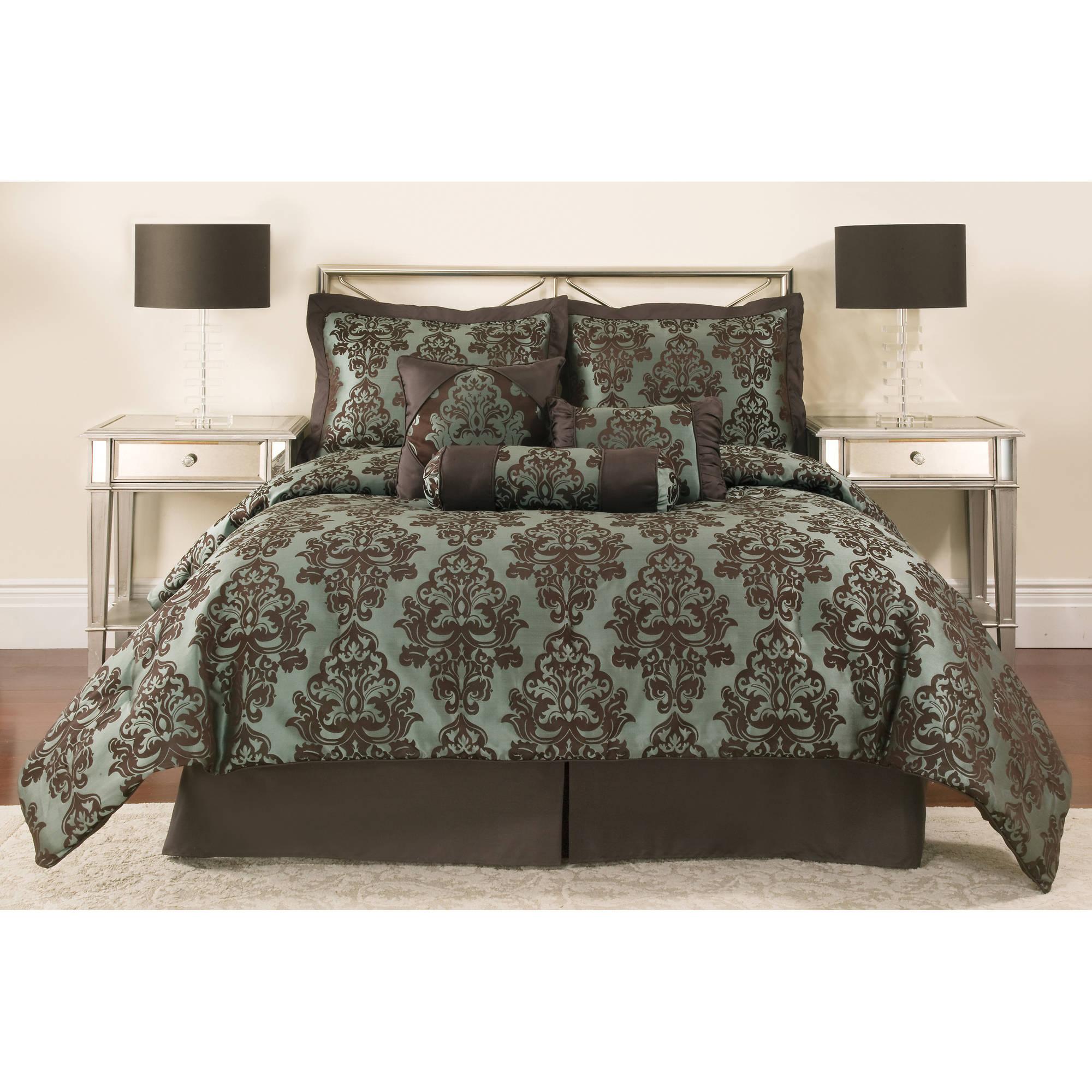 Mainstays 7 Piece Comforter Set, Dalton