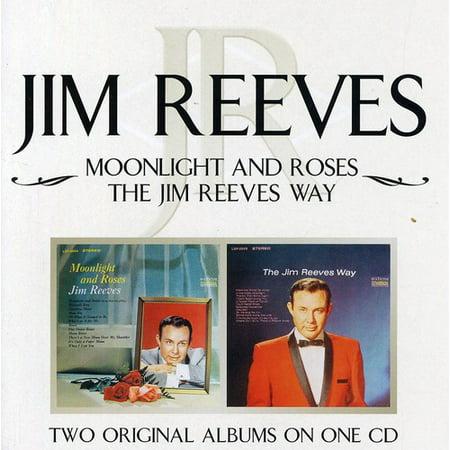 Moonlight and Roses/Jim Reeves Way (CD) Jim Reeves Songs