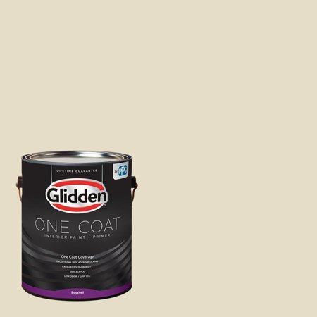 - Glidden One Coat, Interior Paint + Primer, Navajo White