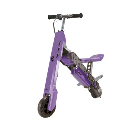 VIRO Rides Vega Transforming 2-in-1 Electric Scooter and Mini Bike (Purple)