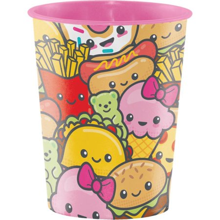Creative Converting Junk Food Fun Plastic Keepsake Cup 16 -