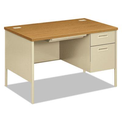 HON Metro Classic Series Single Pedestal Desk