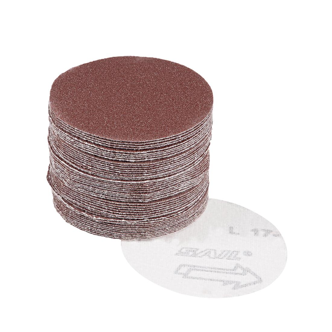 ARC ABRASIVES 30479T PSA Sanding Disc,AlO,Cloth,8in,100 Grit