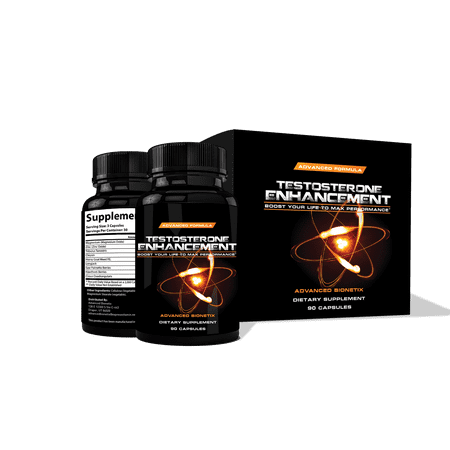 Testosterone Booster Multivitamin For Men Male Enhancement with Zinc, Tribulus, Horny Goat Weed, Saw Palmetto.