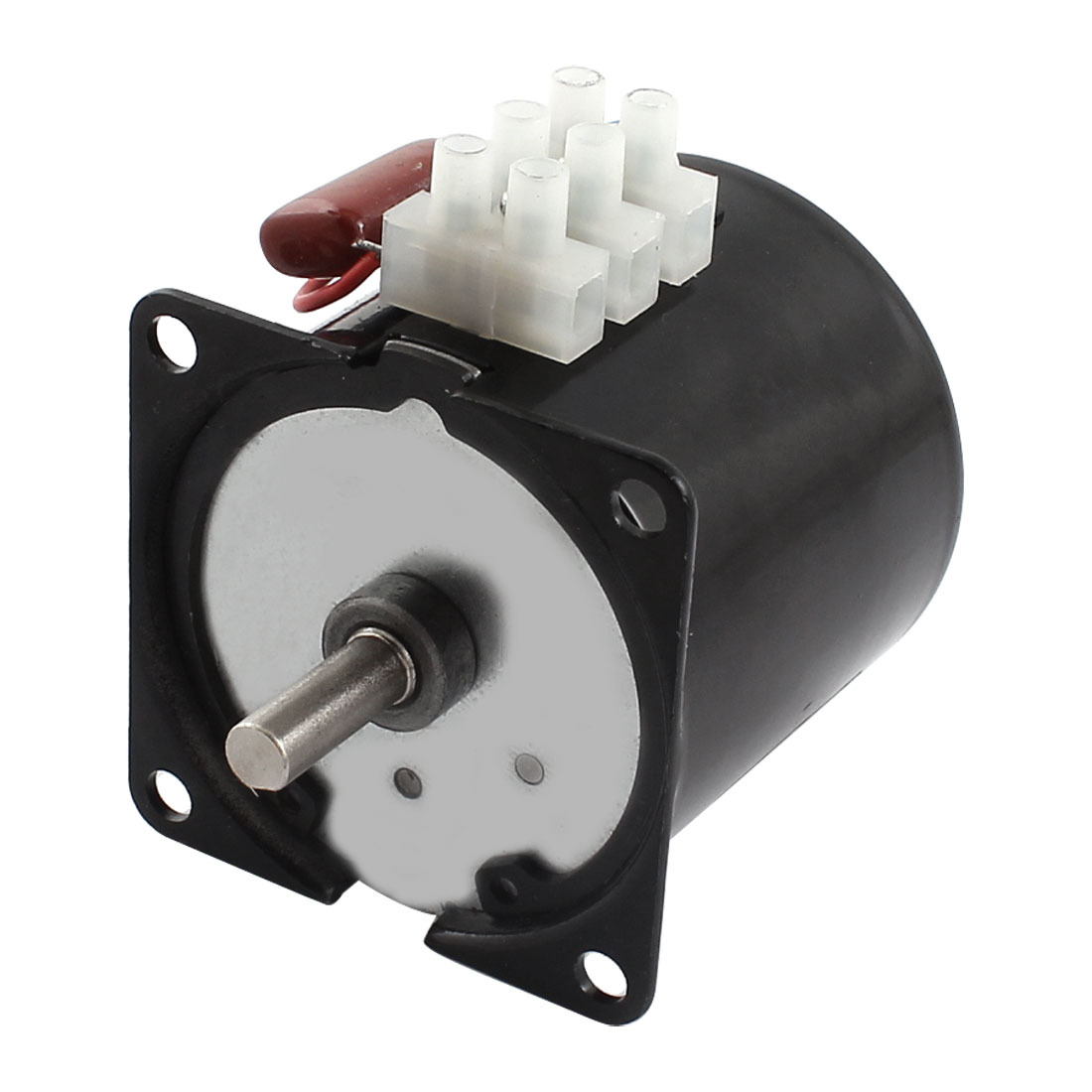 AC 220V 50Hz 14W 5RPM 60mm Dia Synchronous Reduction Geared Gearbox Motor