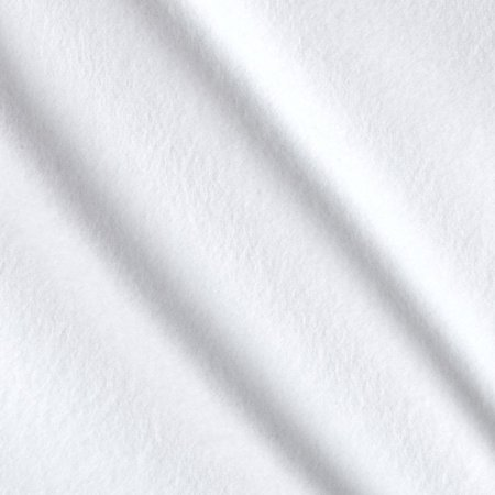 - Organic Solid Flannel Cloud White Fabric By The Yard, Flannel By Cloud 9