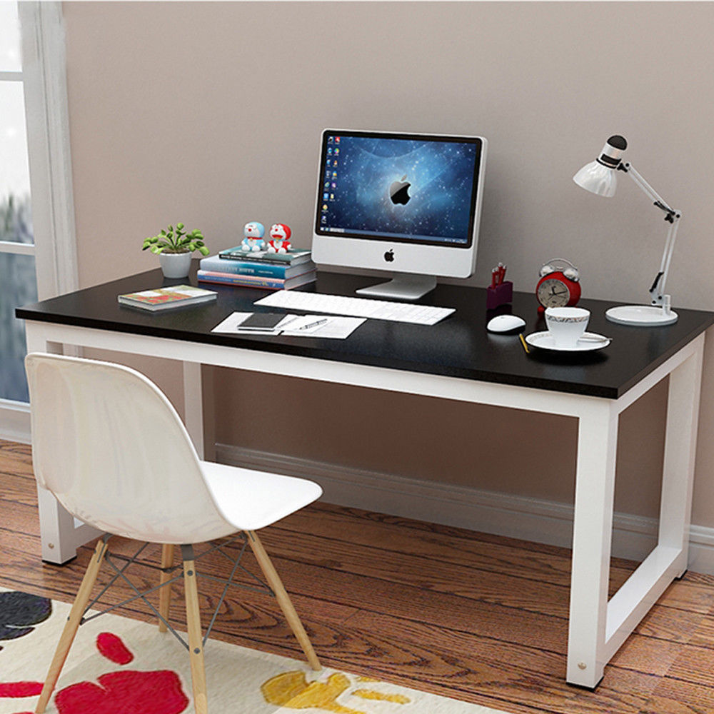 Ktaxon Wood Computer Desk PC Laptop Table Study Workstation Home Office  Furniture - Walmart.com