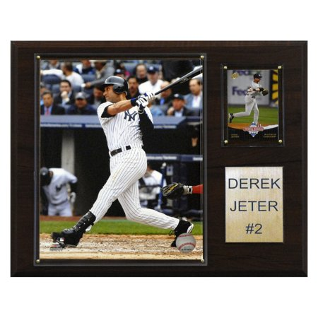 C&I Collectables MLB 12x15 Derek Jeter New York Yankees Player (Derek Jeter Player)