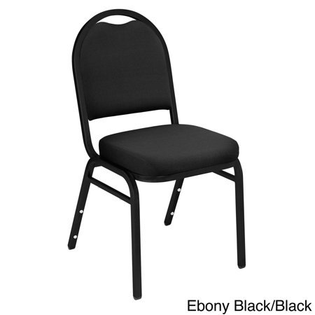 Set Stacking Chair - National Public Seating Fabric Padded Stacking Chairs (Set of 4)