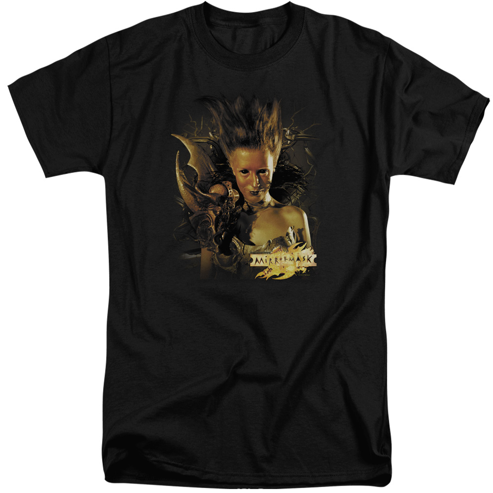 Mirrormask Queen Of Shadows Mens Big and Tall Shirt