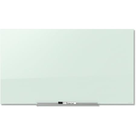 Quartet, QRTG3922IMW, InvisaMount™ Magnetic Glass Dry-Erase Board, 1 Each (Glass Board)