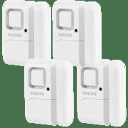 Philips Personal Security Window/Door Alarm 4 Pack