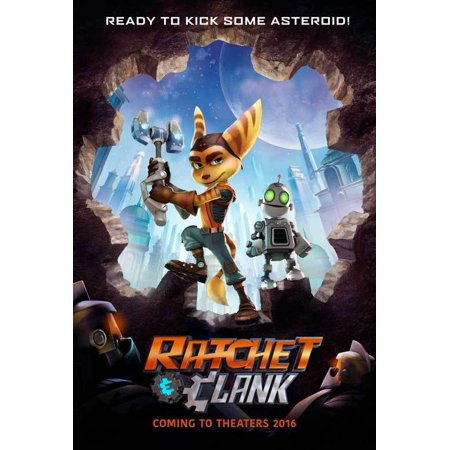 Ratchet & Clank (2016) 11x17 Movie Poster
