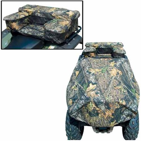 Atv Rack Bag - ATV Rack Combo Bag With Cover  Black