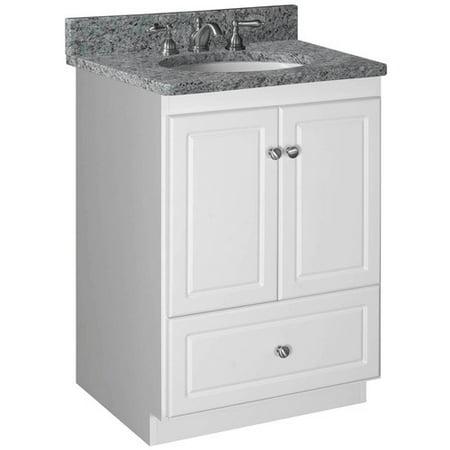 Strasser woodenworks simplicity 24 39 39 bathroom vanity base for Simplicity cabinets