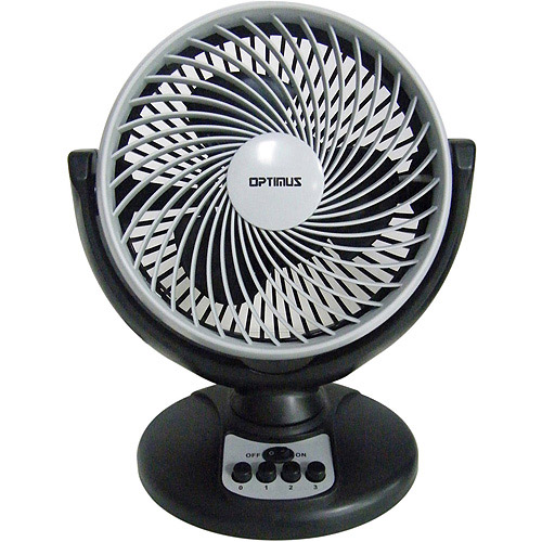 "Optimus 8"" Oscillating Turbo High-Performance Air Circulator  FNOP7098"