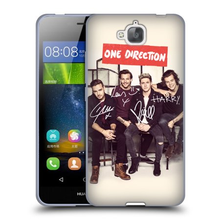 Official One Direction Group Photographs Autographed Soft Gel Case For Huawei Phones 2