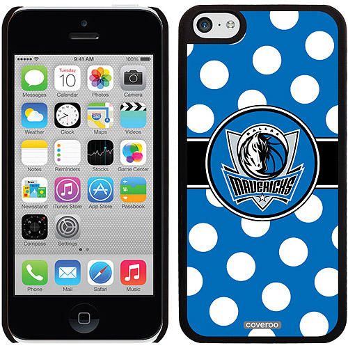 Dallas Mavericks Polka Dots Design on Apple iPhone 5c Thinshield Snap-On Case by Coveroo