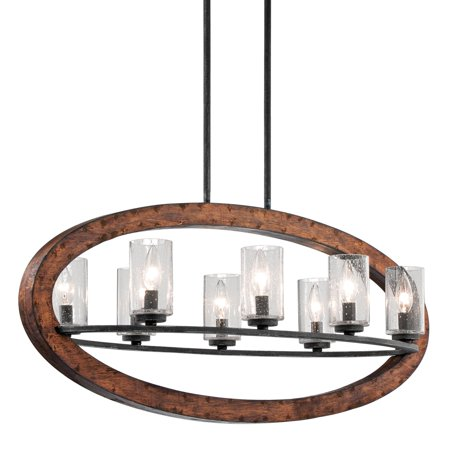 Kalco Oval Chandelier (Kichler Grand Bank 43191 Linear Oval Chandelier )