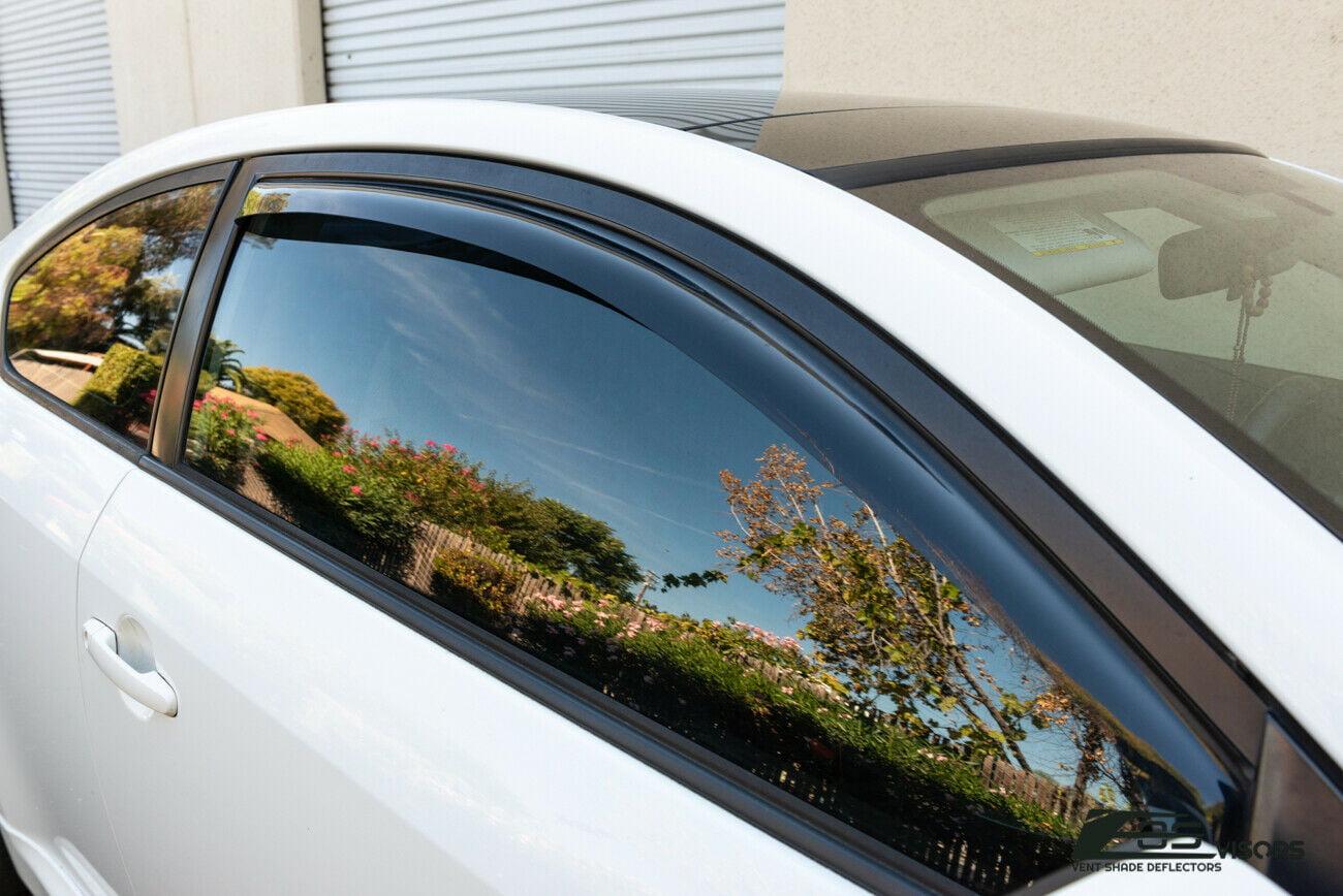WINDOW SIDE VISORS FOR SCION TC 05-10 GEN1 SUN SHADE RAIN GUARD JDM IN-CHANNEL