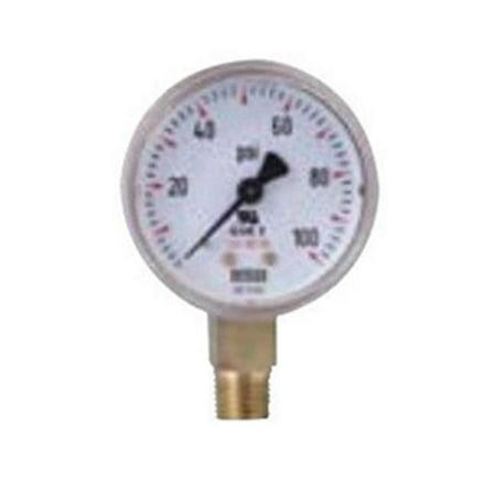 - Wika 759-1.5-30 Welding & Compressed Gas Gauges with Brass Case