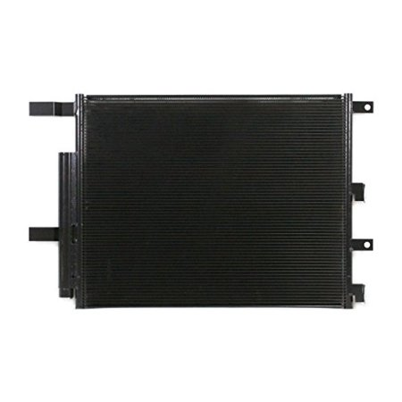 A-C Condenser - Pacific Best Inc For/Fit 4537 13-18 RAM 2500 13-18 RAM 3500 6.7L 5mm WITH Receiver & Drier WITHOUT BUILT IN EXTERNAL TRANSMISSION OIL