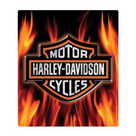 Logo Plaque Black (Harley-Davidson Embossed Flaming Bar & Shield Logo Tin Sign, 13 x 15 in 2011291, Harley Davidson)