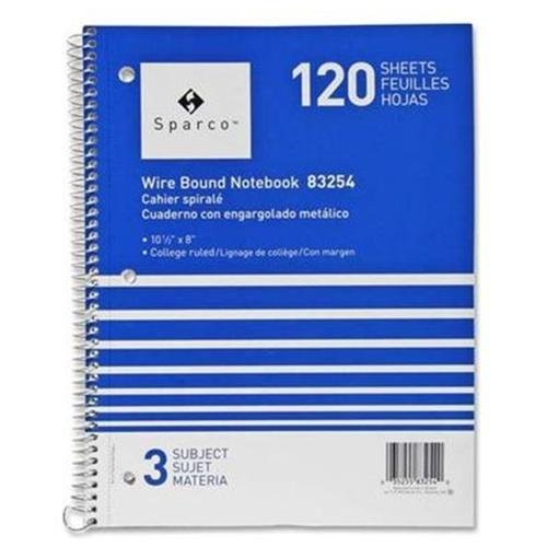 sparco 180 sheets 5 subjects college ruled help on writing a paper