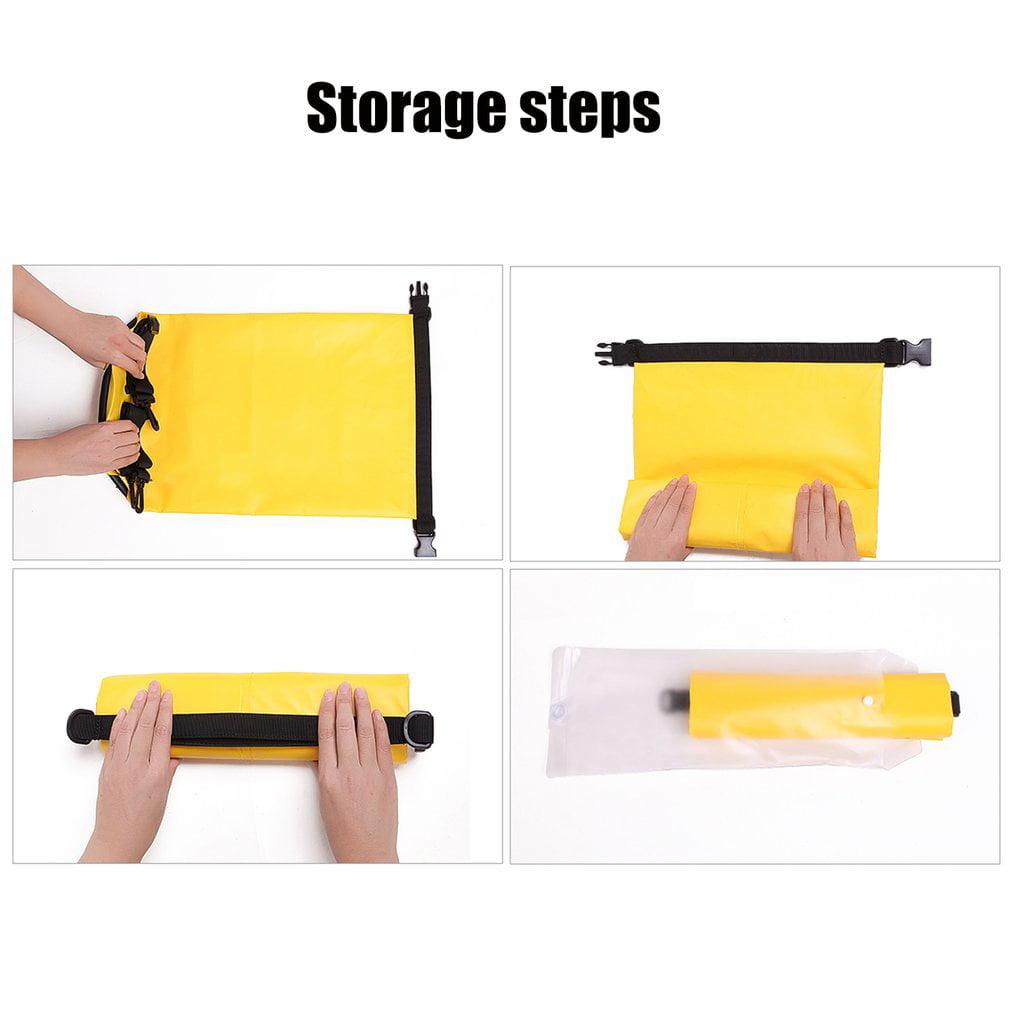 Waterproof Dry Bag Roll Top Survival Sack Kit Dry Gear Bag Camping Equipment by Generic