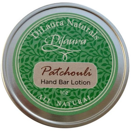 Dilaura Naturals Patchouli Hand Bar Lotion  1 Oz