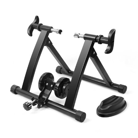 Bike Trainer, Indoor Stationary Exercise Training Riding Adjustable Magnetic Resistance Tire