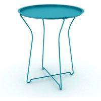 Atlantic Indoor/ Outdoor Portable, Folding Metal Side Table