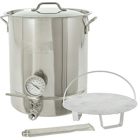 Bayou Classic 8-Gallon 6-Piece Brew Kettle Set, Stainless