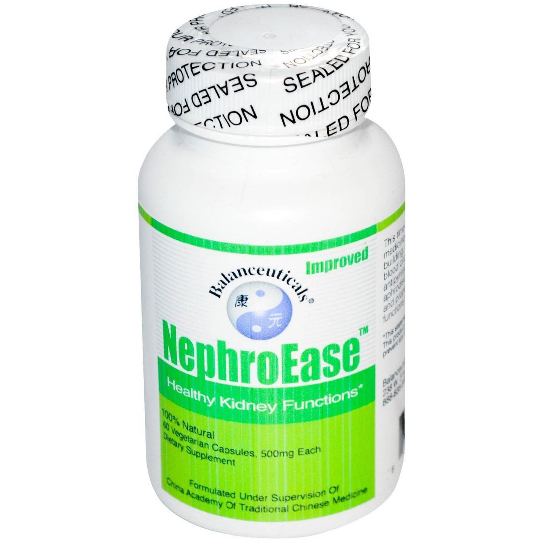 Balanceuticals  NephroEase Healthy Kidney, Vegetarian Capsules, 60 CT