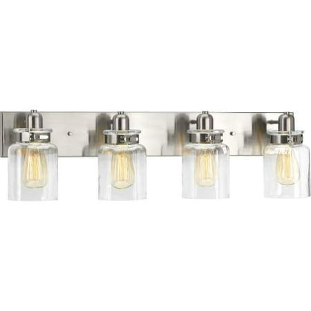 Large Four Light Vanity - Progress Lighting P300048 Calhoun 4 Light 30-1/4
