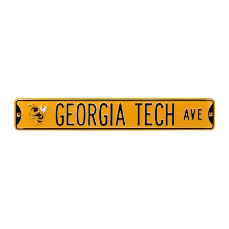 Authentic Street Signs 70181 Georgia Tech Avenue with Buzz Logo