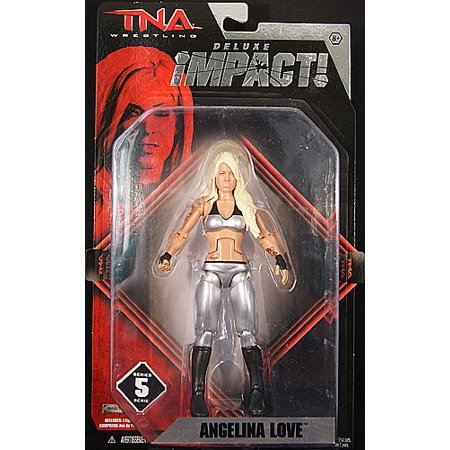 TNA Wrestling Deluxe Impact Series 5 Action Figure Angelina Love ()