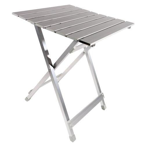 Ozark Trail Aluminum Roll Top Camp Table Walmart Com