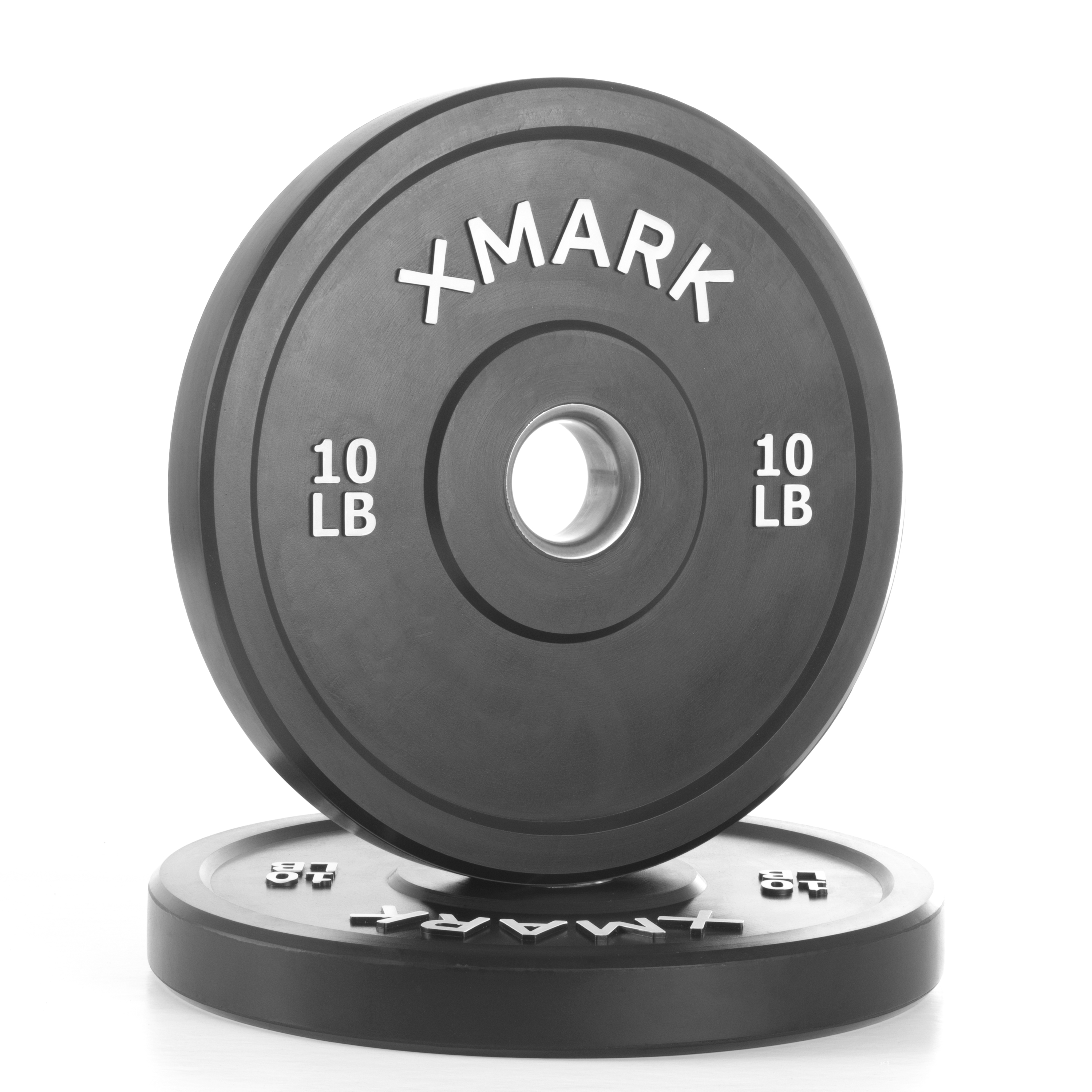 Eco-Friendly 10 lbs. Bumper Plates - Set of 2