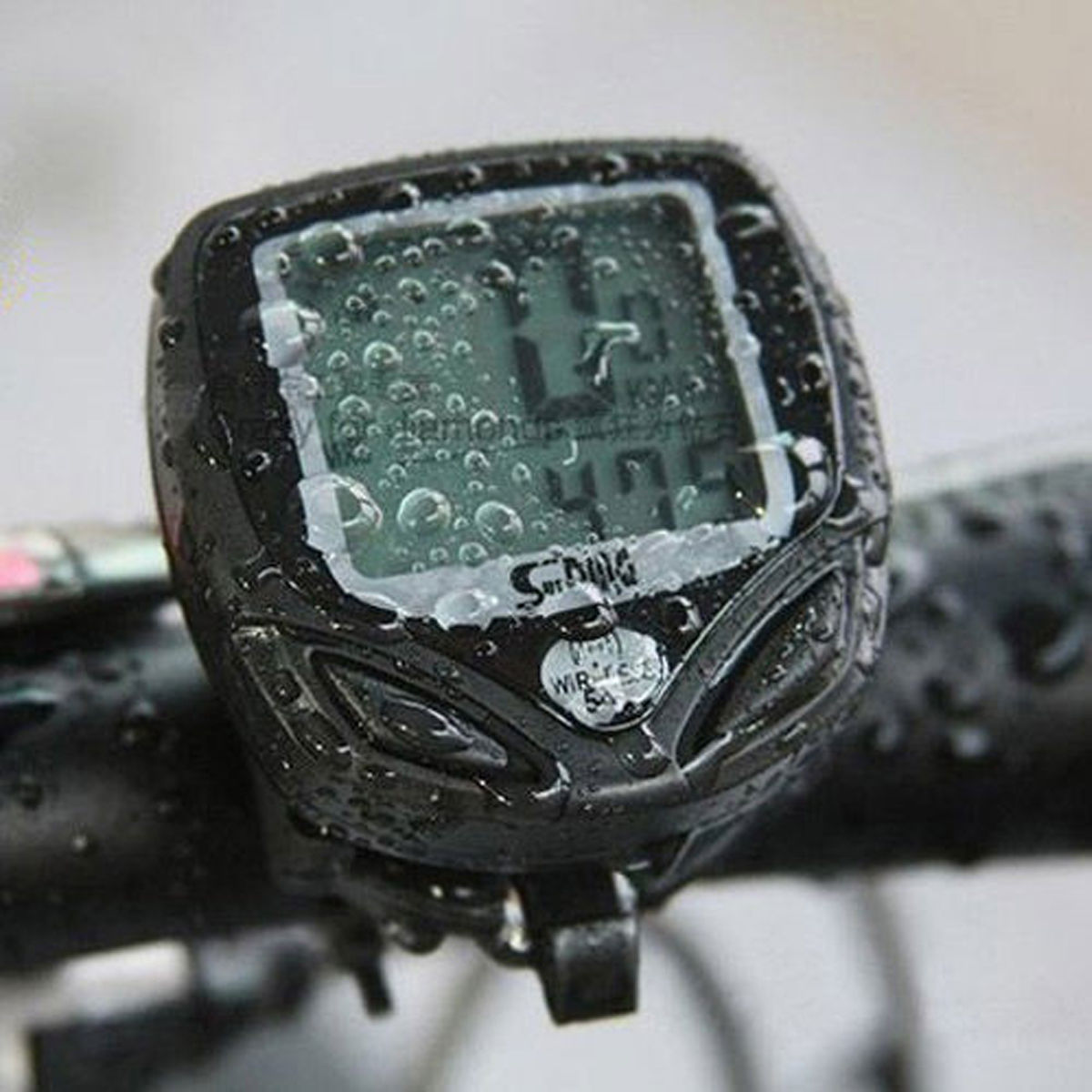 Wireless Waterproof Bike Bicycle Computer LCD Odometer Speedometer Stopwatch