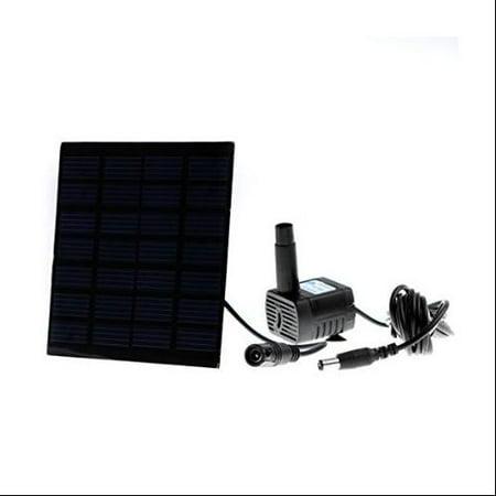 Solar Water Pump Power Panel Kit Fountain Pool Garden